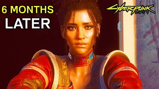 CYBERPUNK 2077 – EXACTLY 6 Months Later (Updates, DLC, Playstation Store, PS5 Xbox Series X Upgrade)