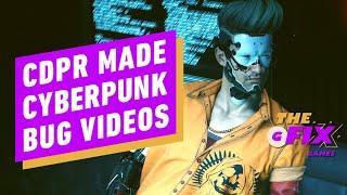 Cyberpunk 2077 Devs Made Their Own Bug Videos, Leaks Show – IGN Daily Fix