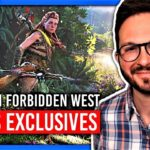 Horizon Forbidden West : escalade libre, open world, PS5 vs PS4, etc 🌟 Infos Exclusives