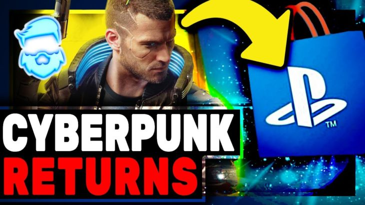 Instant Backlash! Cyberpunk 2077 Is BACK On PlayStation Store & It's Still A HUGE Buggy Mess!