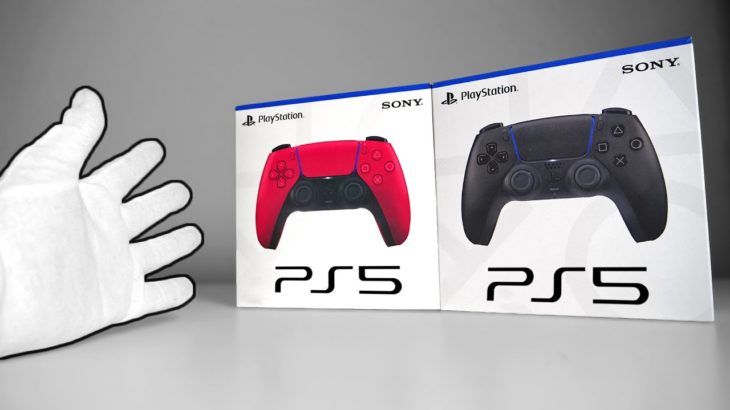 New PS5 DualSense Controllers Unboxing! + Bonus Press Kits