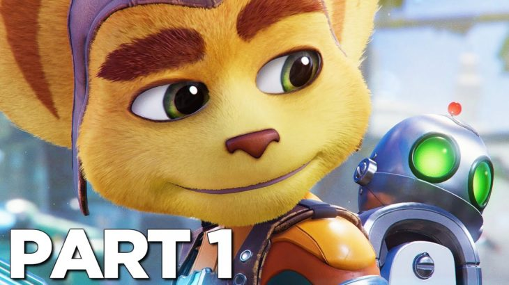 RATCHET AND CLANK RIFT APART PS5 Walkthrough Gameplay Part 1 – INTRO (PlayStation 5)